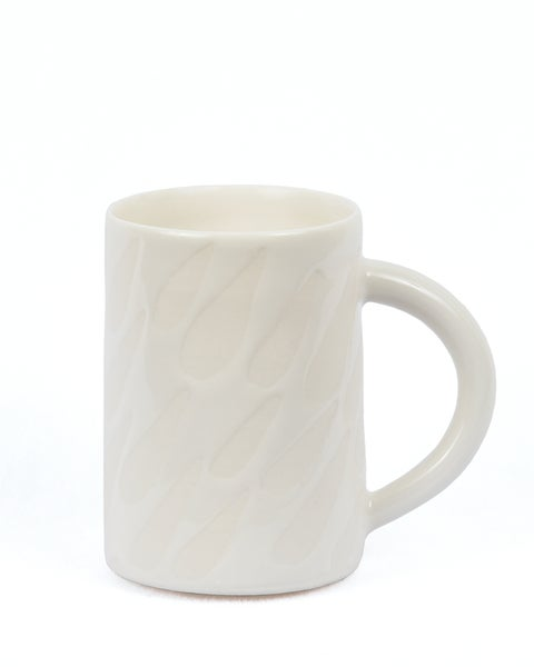 Image of Porcelain Drops Mug 12oz