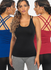 Criss-Cross back tee
