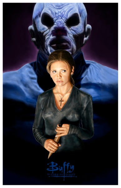 "Image of ""Prophecy Girl"" - Buffy the Vampire Slayer Giclee Fine Art Print"