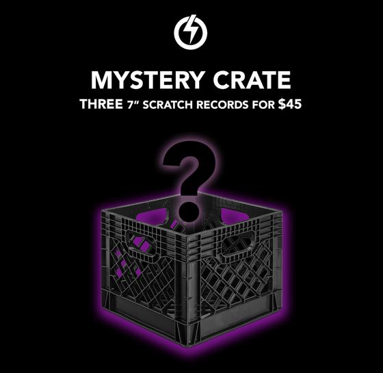 Image of MYSTERY CRATE - 3 Scratch Records