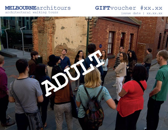 Image of gift voucher - adult
