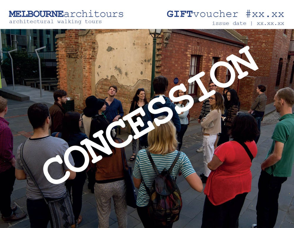 Image of gift voucher - concession