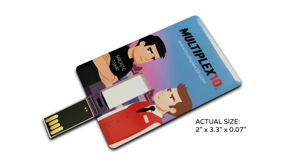 Image of Multiplex 10: The Animated Short (USB card)