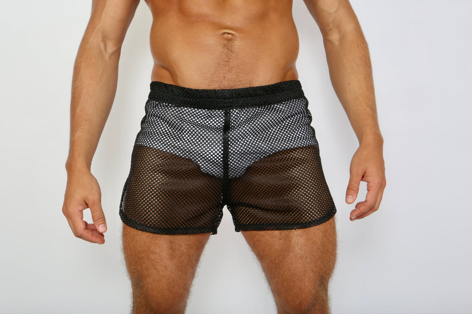 Image of BOOM BOOM SHORTS. BLACK