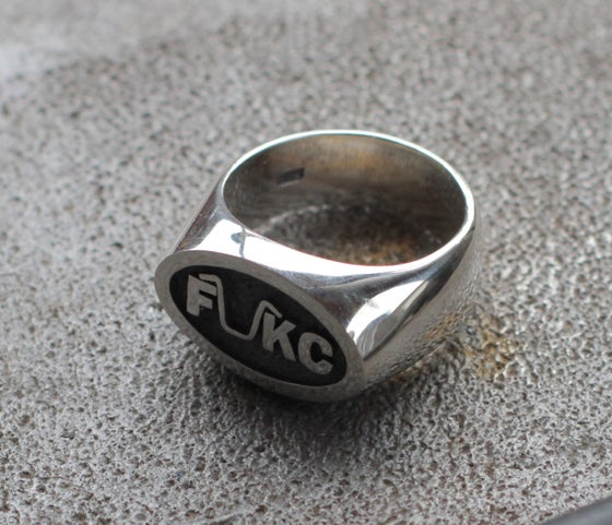Image of FUKC STERLING SILVER RING