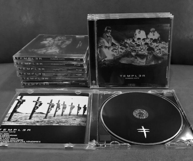 Image of [PHAGE TAPES] TEMPLƎR - HUMAN HATE CD REISSUE