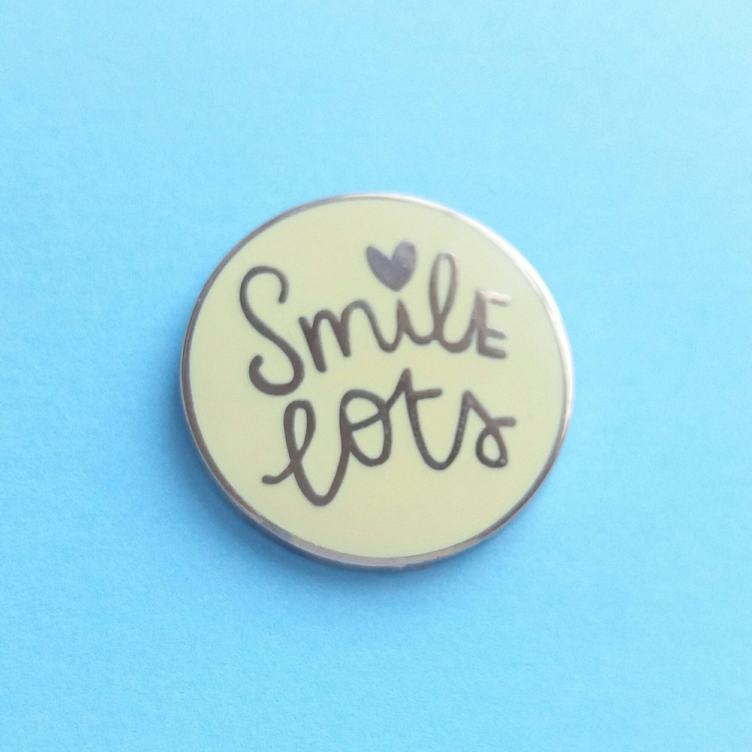 Image of Smile Lots - Sunny Yellow Hard Enamel Pin