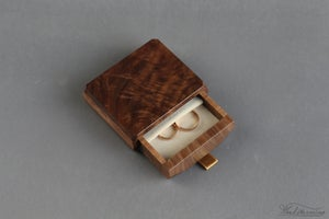 Image of Wedding ring box - ring bearer box