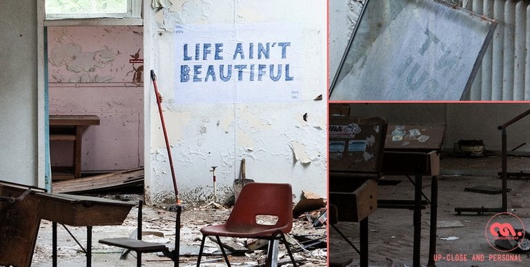 Life Ain't Beautiful - Hospital Classroom