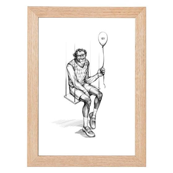 Image of Monkey Swing Print