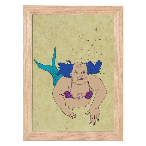Image of Merman Colour Print