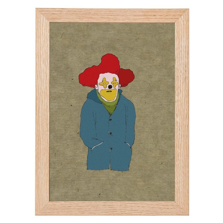 Image of Clown Print