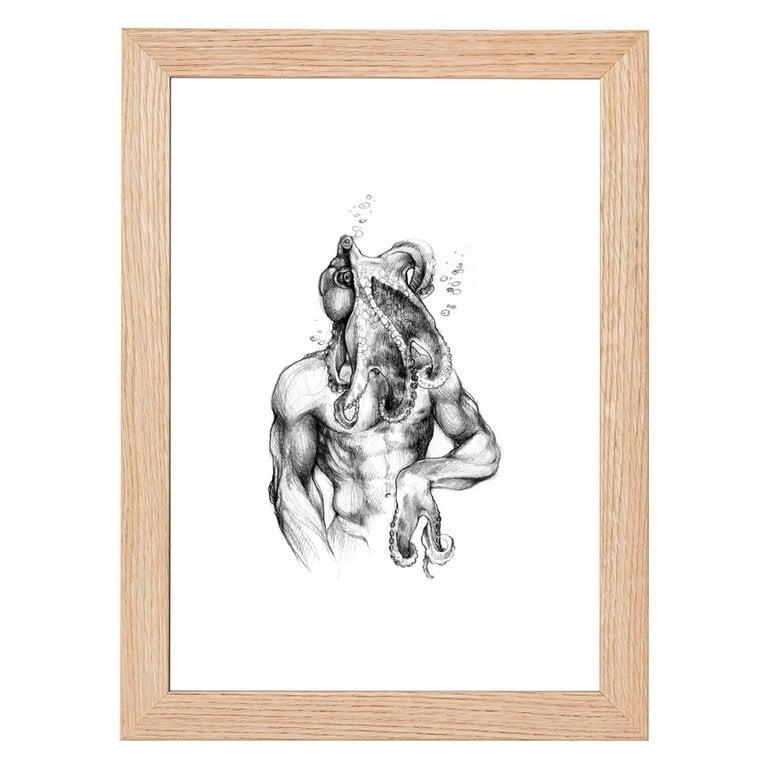 Octoman Print