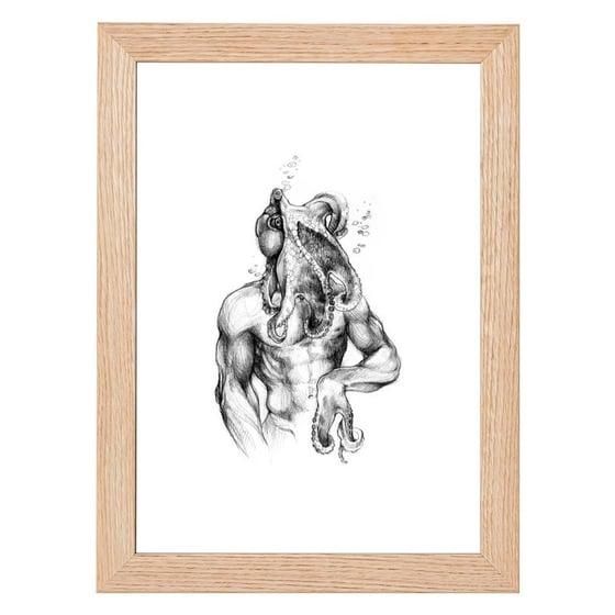 Image of Octoman Print