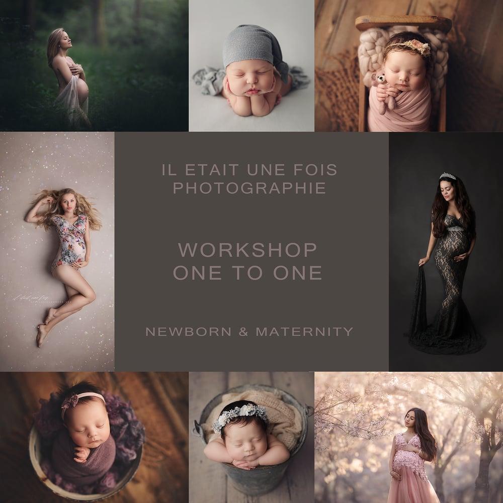 Image of Acompte: Workshop maternité OU nouveau-né 1:1 (francais)