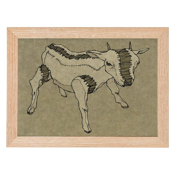 Image of Goat Print