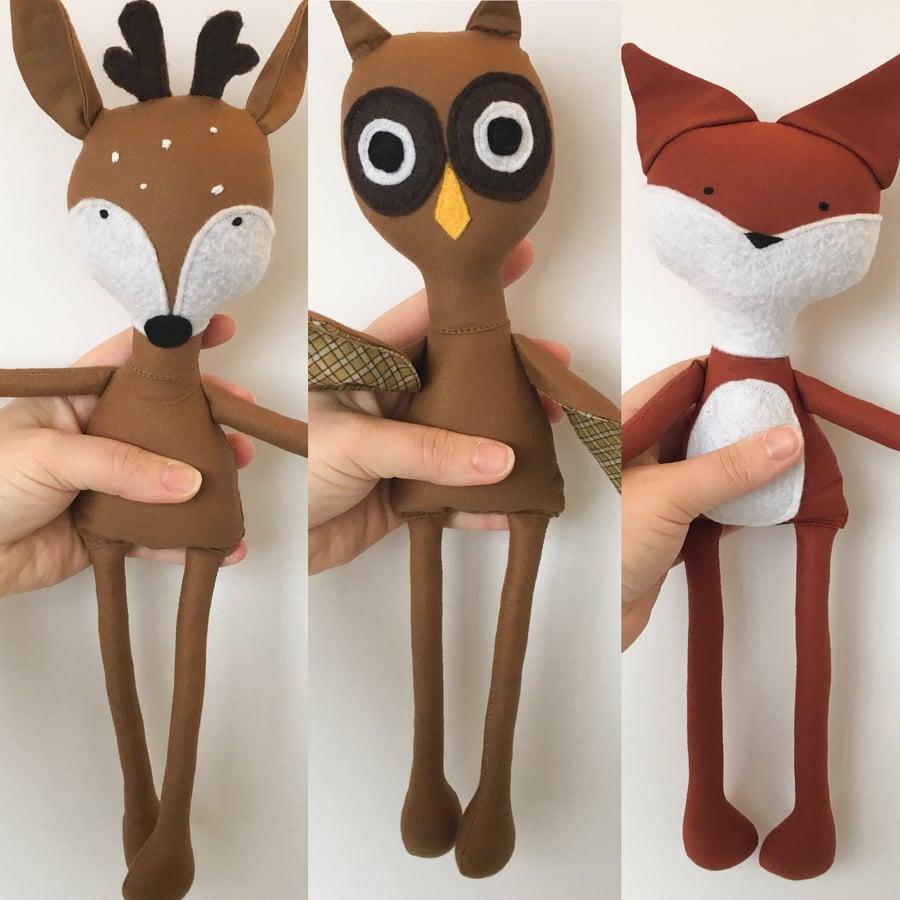 Image of Animal Dolls
