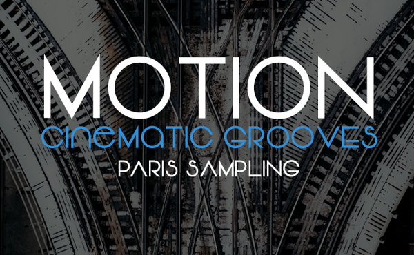 Image of Motion Cinematic Grooves for Kontakt