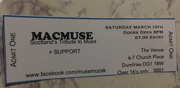 Image of MacMuse - The Venue, Dumfries