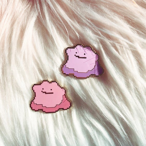 Image of Blob Enamel Badge