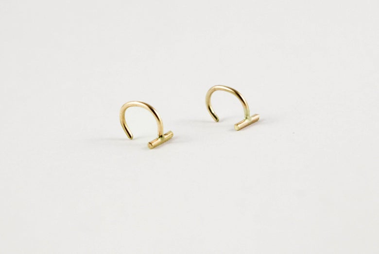 Image of Stape Hook Earrings