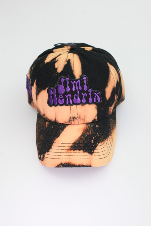 Image of Jimi Hendrix Acid Wash Dad Hat
