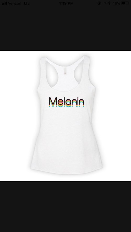 Image of Multicolored Melanin T-Shirt & Tank