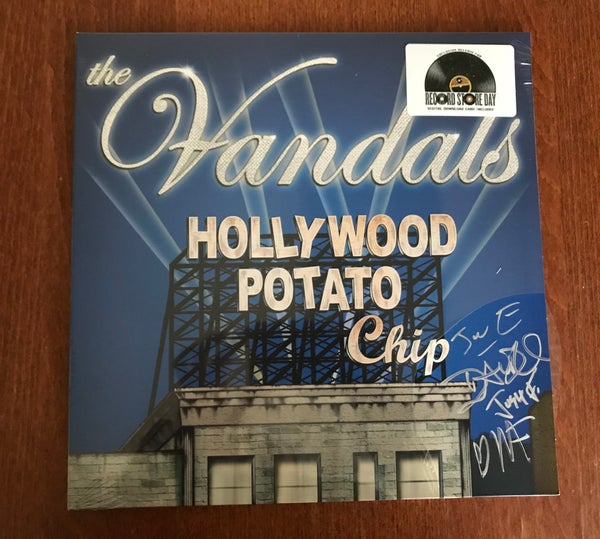 Image of AUTOGRAPHED VANDALS HOLLYWOOD POTATO CHIP VINYL