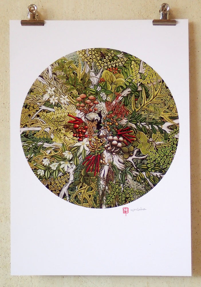 Image of 'Canopy Ecosystem' A3 Print