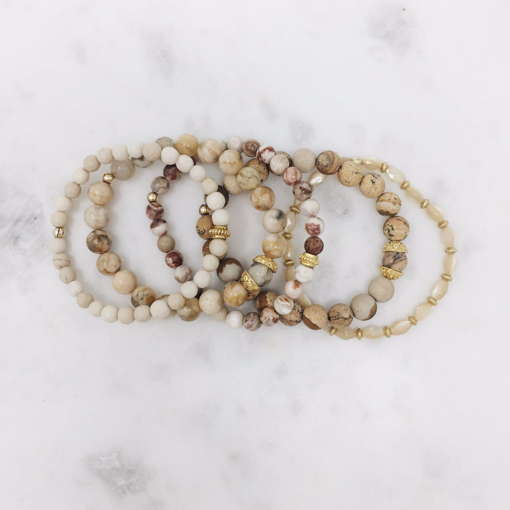 Image of Earthy Bracelet set