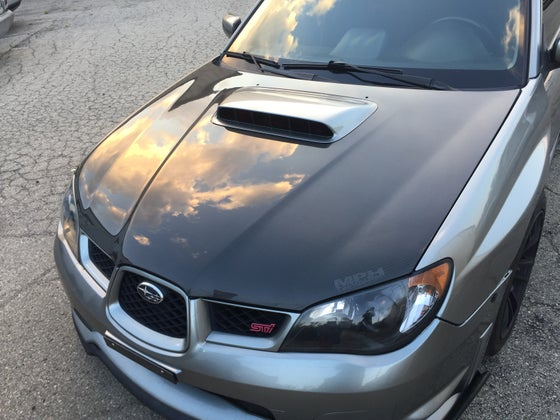 Image of '06-'07 subaru WRX/STI performance spec hood