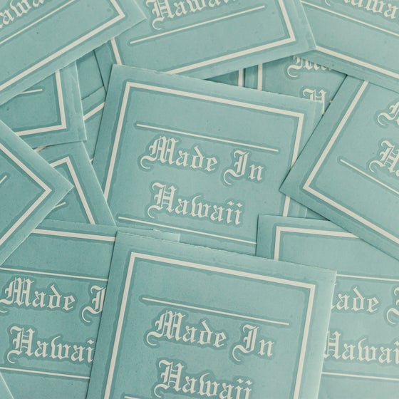 Image of Made In Hawaii Stickers