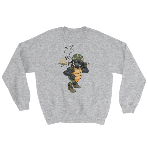 "Image of Black Tortoise ""Army"" Crewneck"
