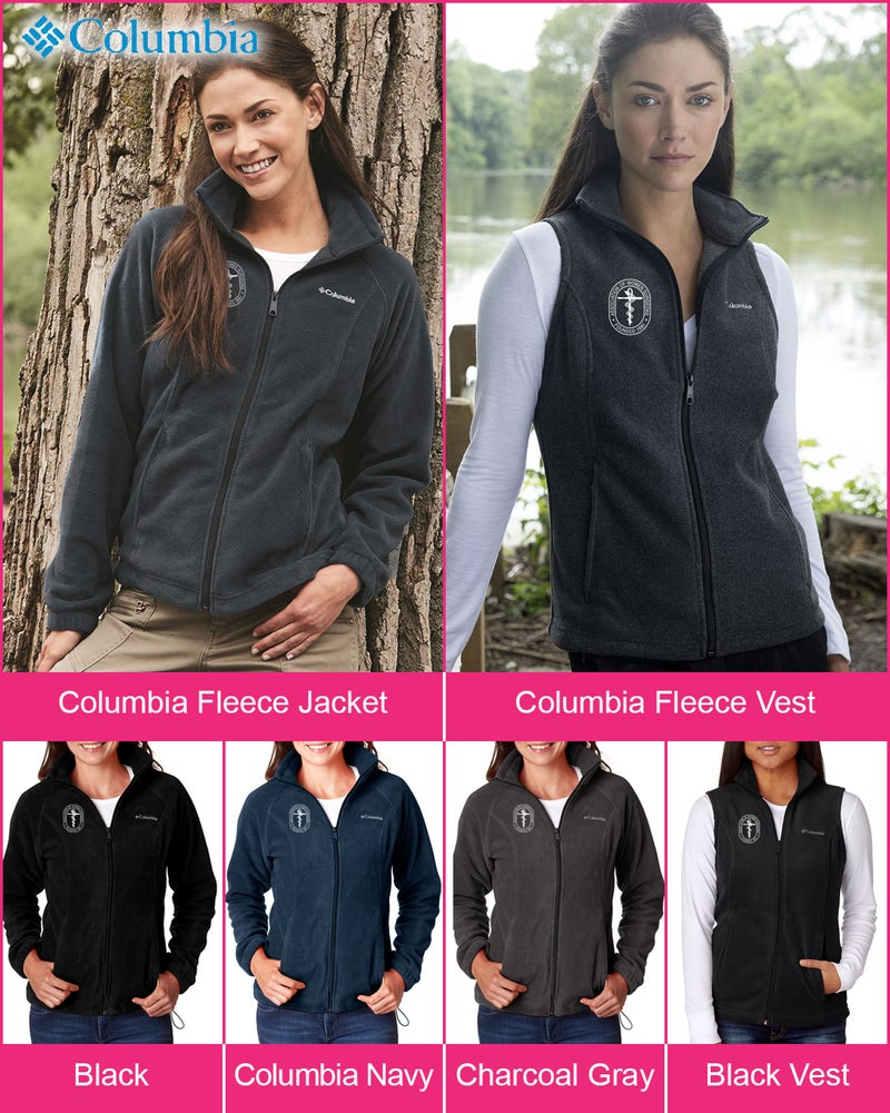 Image of Columbia AWS Fleece Jacket and Vest ~ starts @