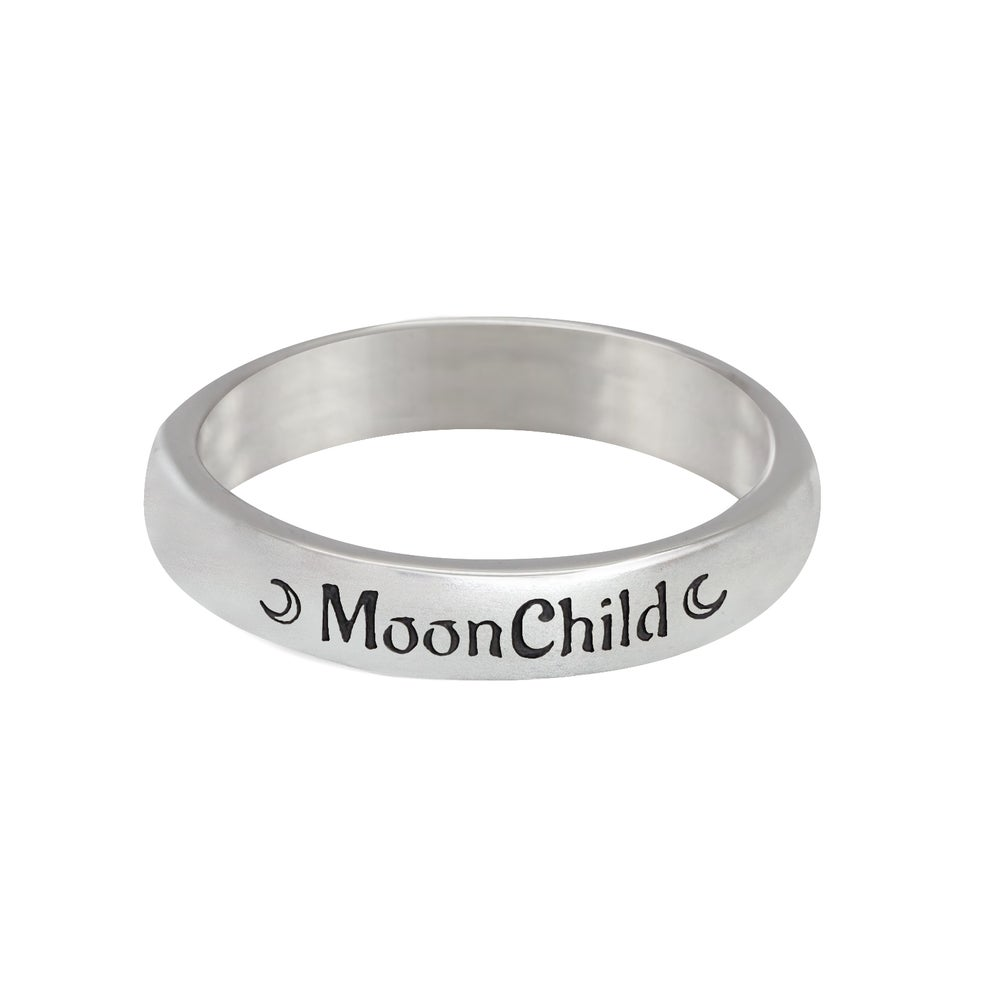 Image of Sterling Silver Moonchild Ring