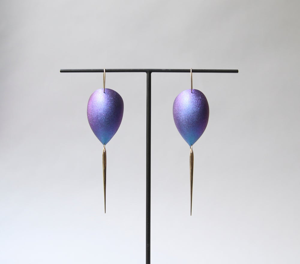 Image of Ted muehling egg dangles