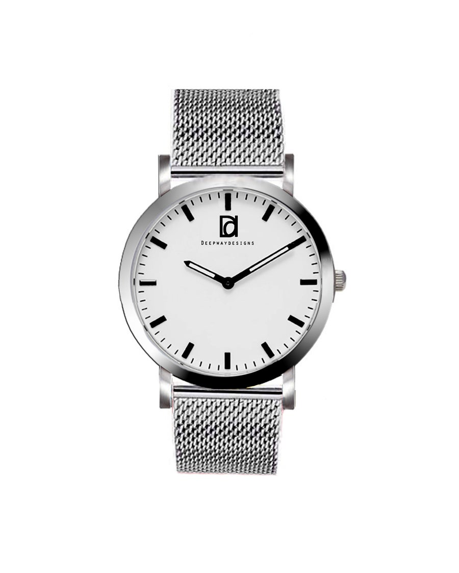 Image of Deepway Stainless steel Watch 37mm.