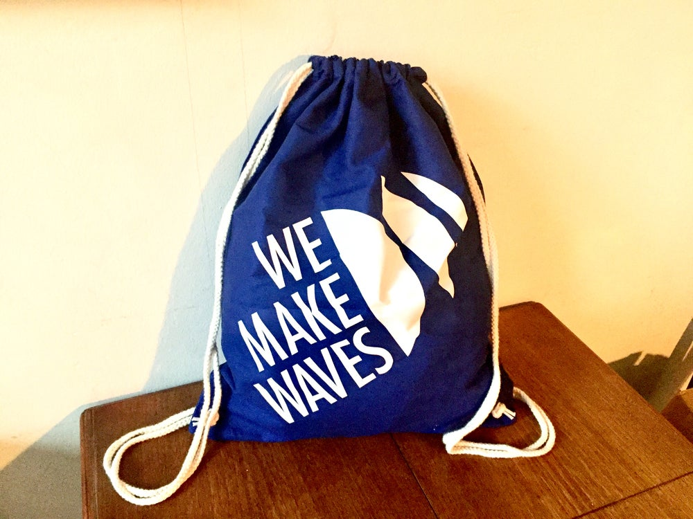 Image of WMW Gym Bag (Navy Blue)