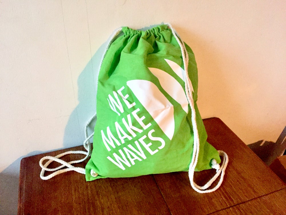 Image of WMW Gym Bag (Lime Green)