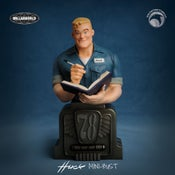 Image of The 50/50 Club: *SIGNED* Huck mini-bust