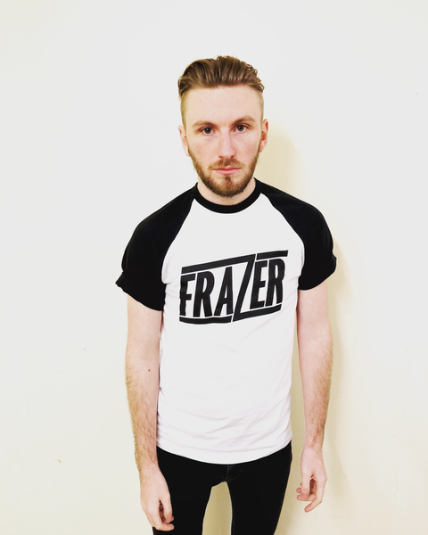Image of Frazer Logo Baseball T-Shirt