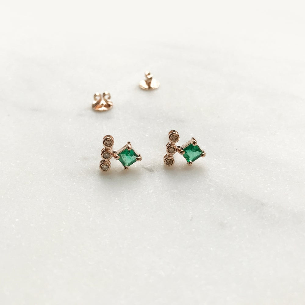 Image of Odette Emerald Earring
