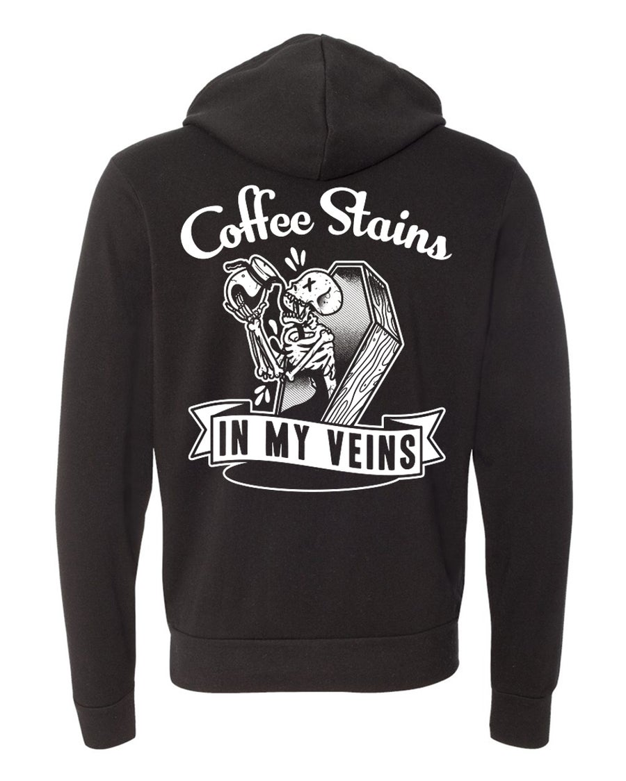 Image of COFFEE STAINS HOODIE