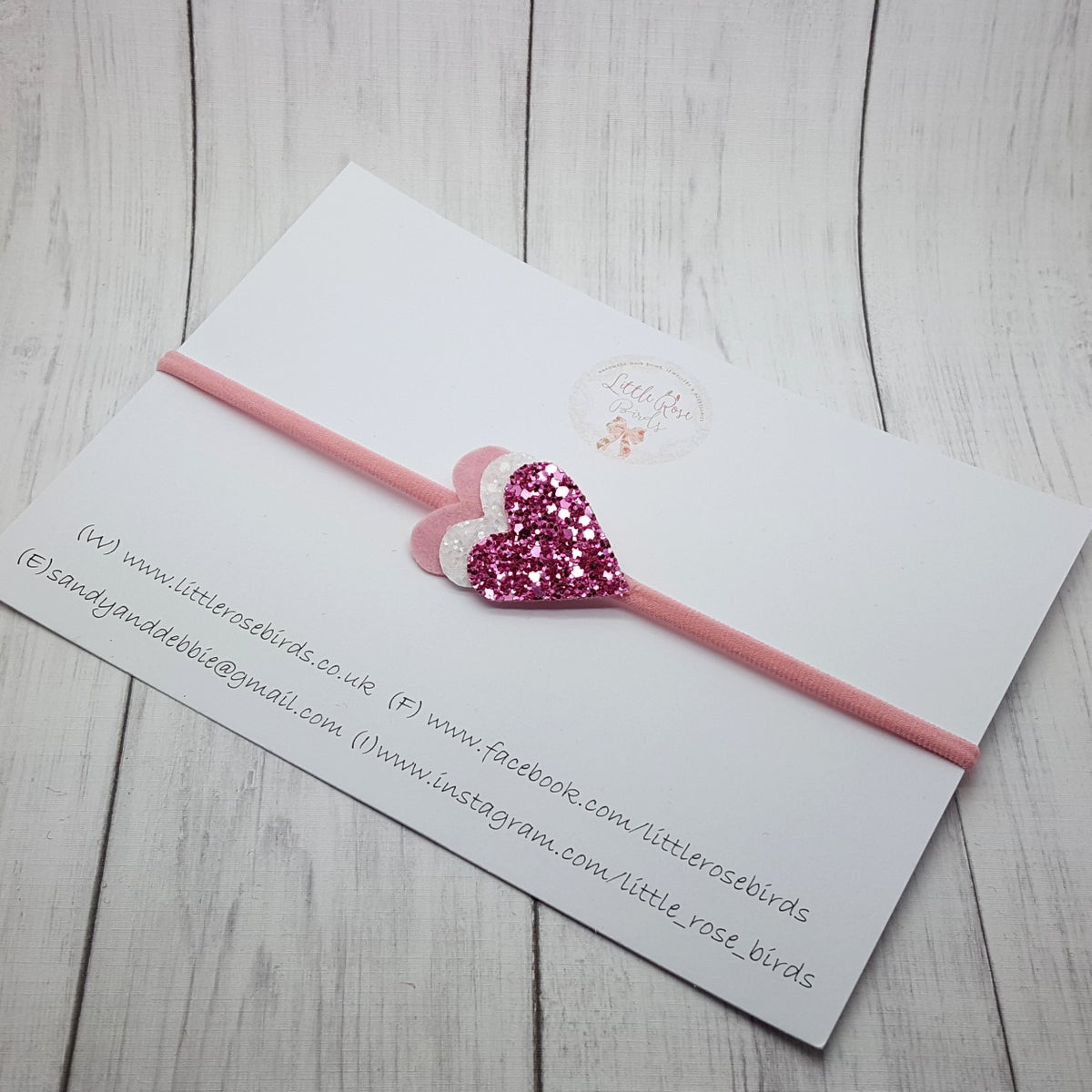 Image of Dainty Heart Headband