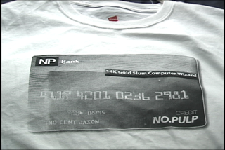 Image of Denim Card Long Sleeve