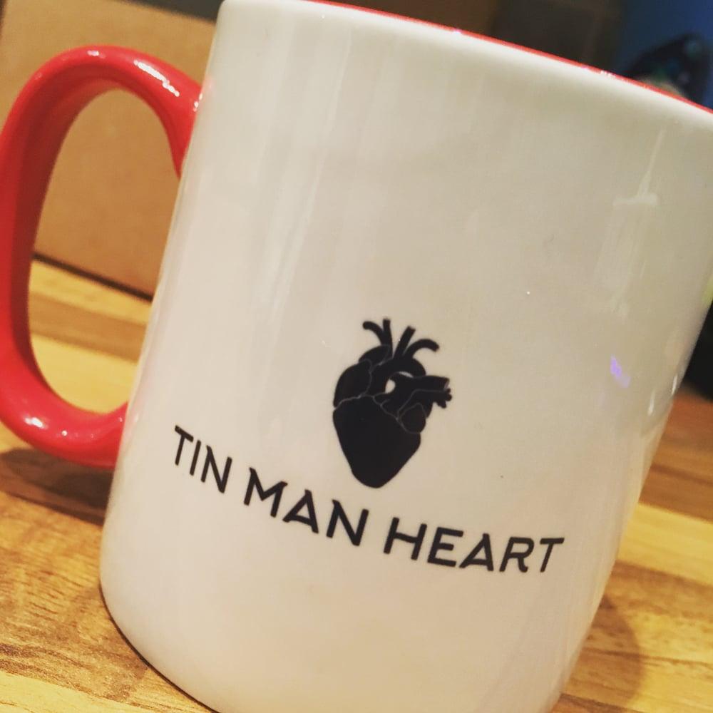 Image of Tin Man Heart Mug (Free P&P)