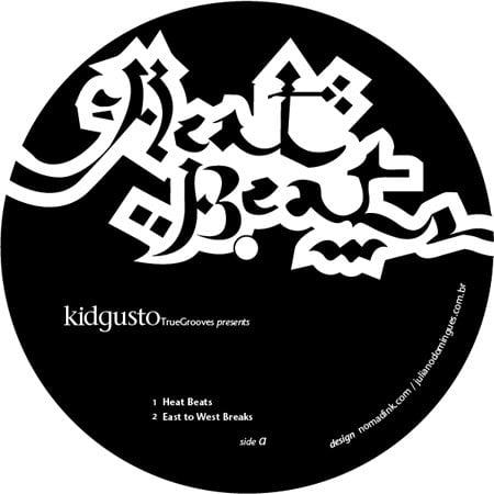 """KidGusto - Heat Beats (12"""")"""