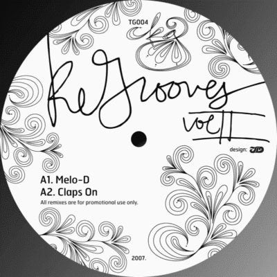 "KidGusto - ReGrooves Vol II (12"")"