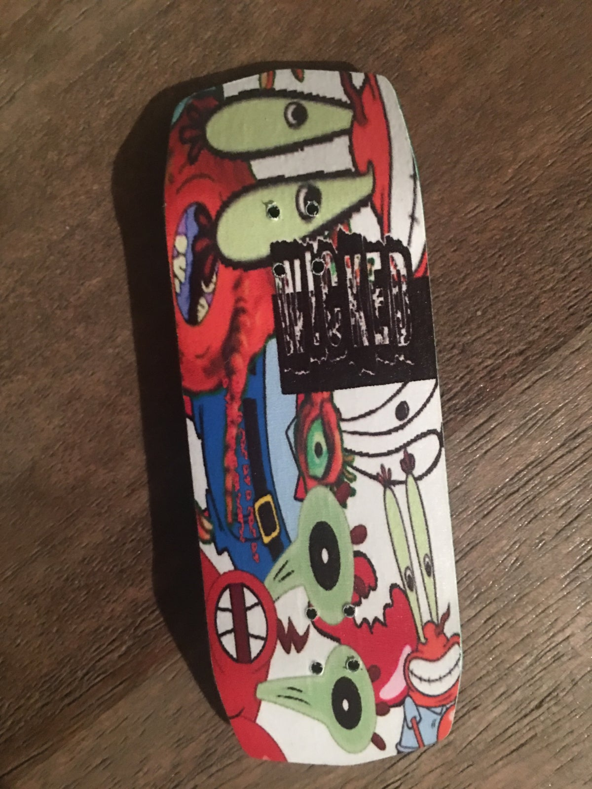 d072c835825a2 Image of So many Krabs, so little time! Customizable 33-36mm Fingerboard
