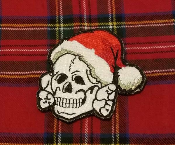 Image of Festive Skull Patch